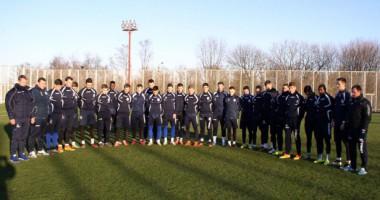 Черноморец почтил память бразильских футболистов
