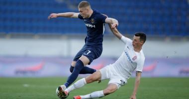 Днепр-1 — Заря 0:1 видео гола и обзор матча чемпионата Украины