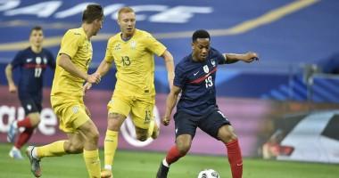 Франция - Украина 7:1 видео голов и обзор товарищеского матча