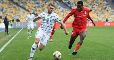 Динамо — Минай 3:0 Видео голов и обзор матча чемпионата Украины