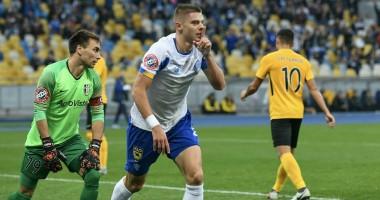 Динамо - Александрия 1:0 видео гола и обзор матча чемпионата Украины