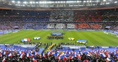 Сборная Украины сыграет с Францией при пустых трибунах