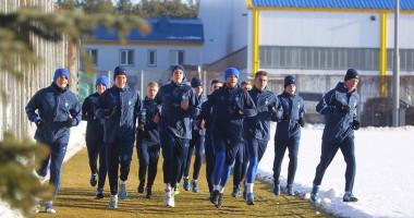 Динамо провело первую тренировку в году