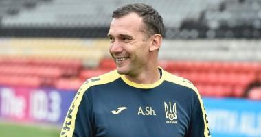 Игроки сборной Украины попрощались с Шевченко
