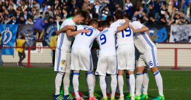 Нефтяник - Динамо 0:1 Видео гола и обзор матча Кубка Украины