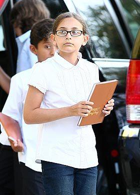 Дочь Майкла Джексона в 11 лет