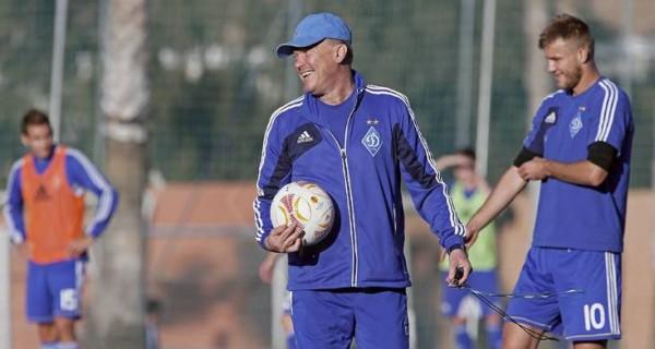Блохин: Мбокани и Ярмоленко не смогут играть в первом матче против Валенсии