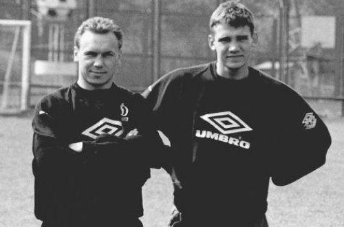 В свое время Леоненко и Шевченко играли вместе за Динамо