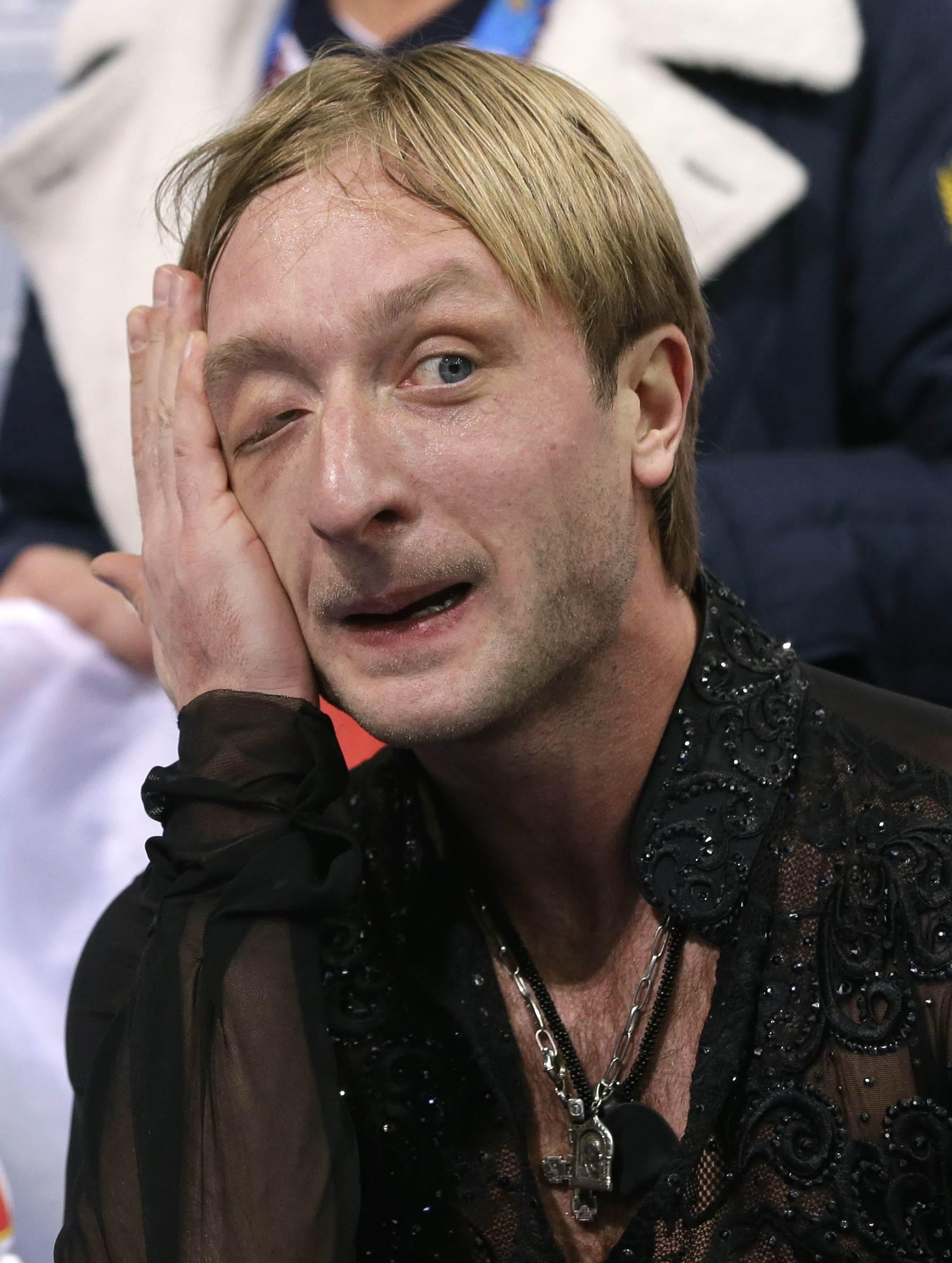 Евгений Плющенко выступает в Сочи уже на своей четвертой Олимпиаде
