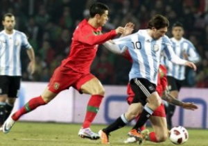 Месси лучше Роналдо: Аргентина вырывает победу над Португалией