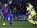 Барселона ушла от поражения в матче с Вильярреалом