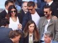 Роналду с девушкой посетили теннисный матч Надаль - Джокович