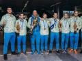 Сборная Украины выиграла чемпионат мира по боевому самбо