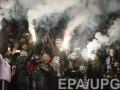 УЕФА наказал Динамо за беспорядки в матче Лиги чемпионов