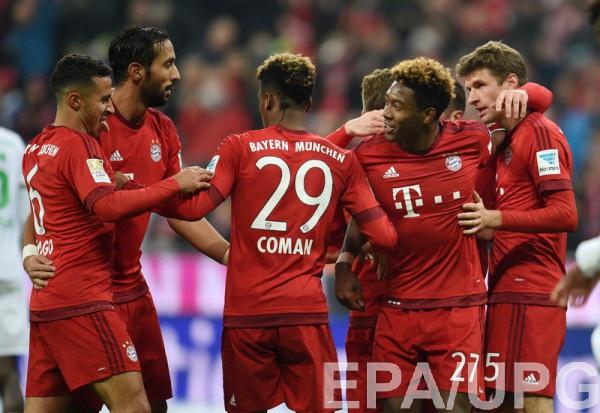 Бавария одержала уверенную победу