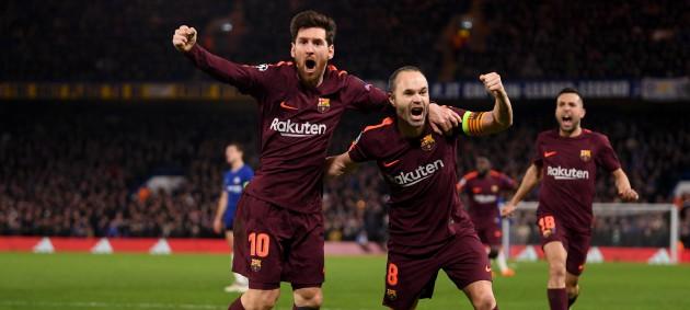 Челси не сумел удержать победу над Барселоной