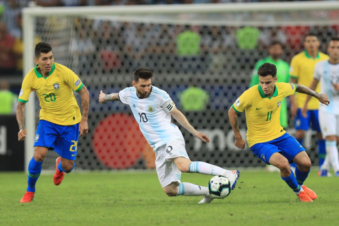 Бразилия - Аргентина: видео голов