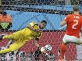 Повезло: В серии пенальти Голландия – Аргентина мяч чудом не залетел в ворота