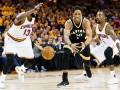 НБА: Кливленд выиграл Торонто, Сан-Антонио сравнял счет в серии с Хьюстоном
