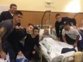 Игроки Динамо навестили раненых воинов АТО