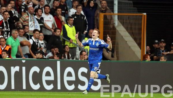 Цыганков забил дебютный свой гол в Лиге чемпионов