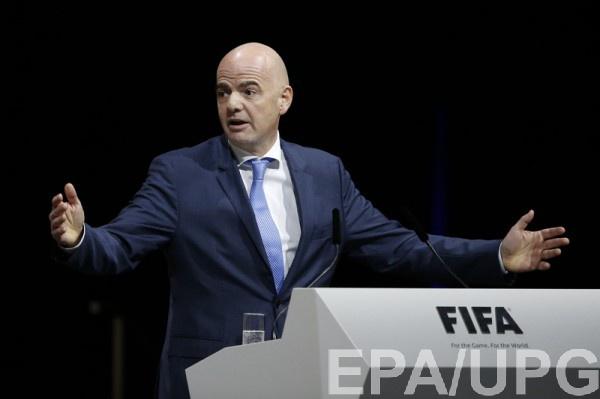 Джанни Инфантино - один из главных кандидатов на пост президента ФИФА