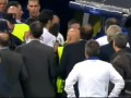 Потасовка в перерыве матча Реала и Барселоны, удаление голкипера каталонцев