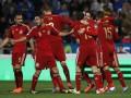 Испания на своем поле преподала урок футбола для сборной Беларуси