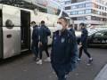 Сборная Украины отправилась в аэропорт Цюриха для возвращения из Швейцарии