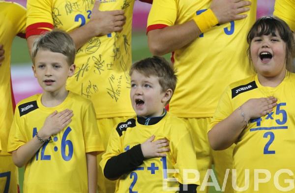 Румыния вышла на матч в необычных футболках