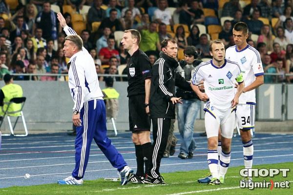 Олег Блохин расплачивается за удаление в матче с Металлистом