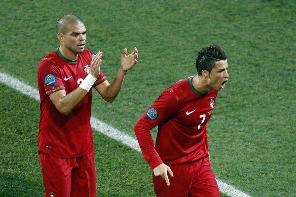 Пепе аплодирует неудержимому Роналдо