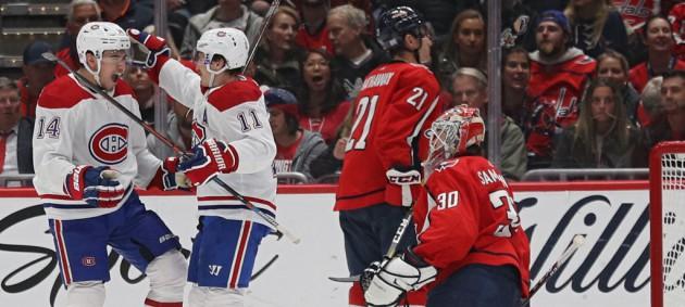 НХЛ: Монреаль обыграл Вашингтон, Сент-Луис в овертайме уступил Коламбусу
