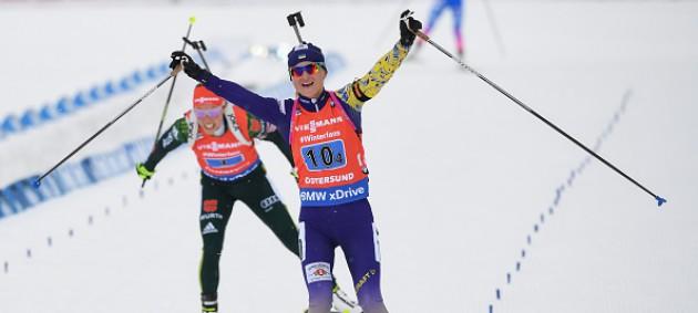 ЧМ по биатлону: Украина завоевала бронзовую медаль, победу в эстафете одержала Норвегия
