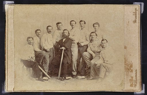 Бейсбольная карточка 148-летней давности