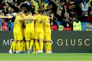 Сборная Украины показала фото из раздевалки после победы над Португалией
