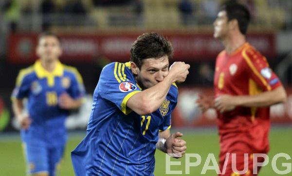Евгений Селезнев вернулся в сборную Украины