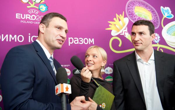 Фото пресс-службы братьев Кличко