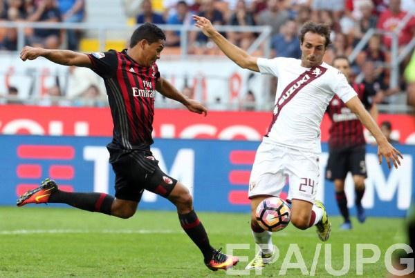 «Милан» обыграл «Торино» ивышел в ¼ финала Кубка Италии на«Ювентус»