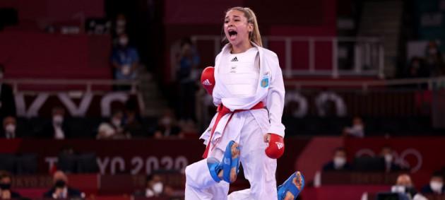 Анжелика Тергюга завоевала серебро Олимпиады в Токио