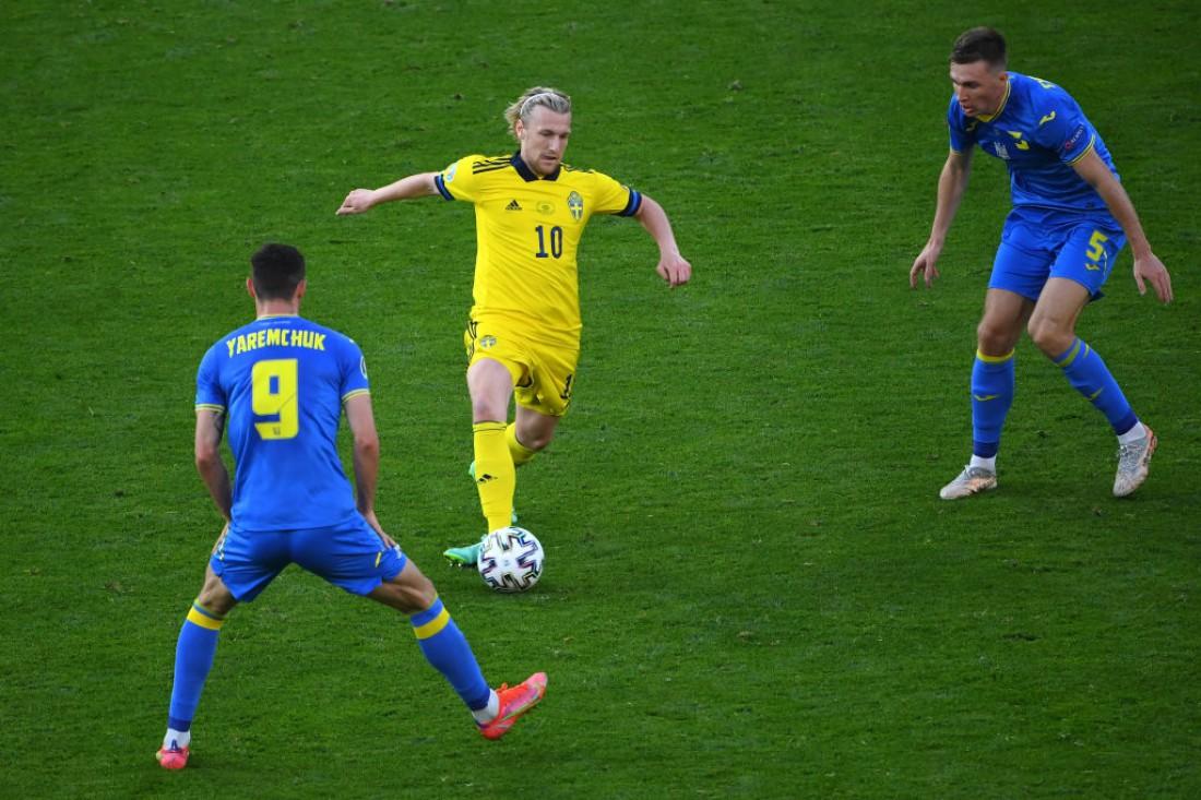 Сборная Швеции - сборная Украины