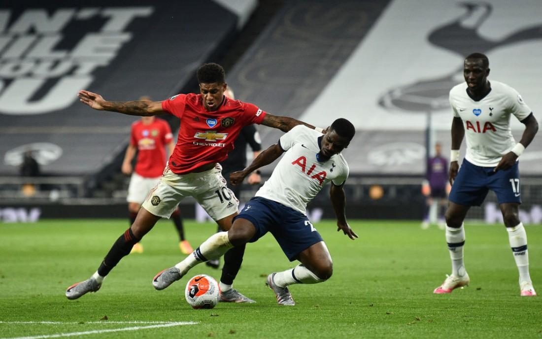 Тоттенхэм - Манчестер Юнайтед: видео голов и обзор матча