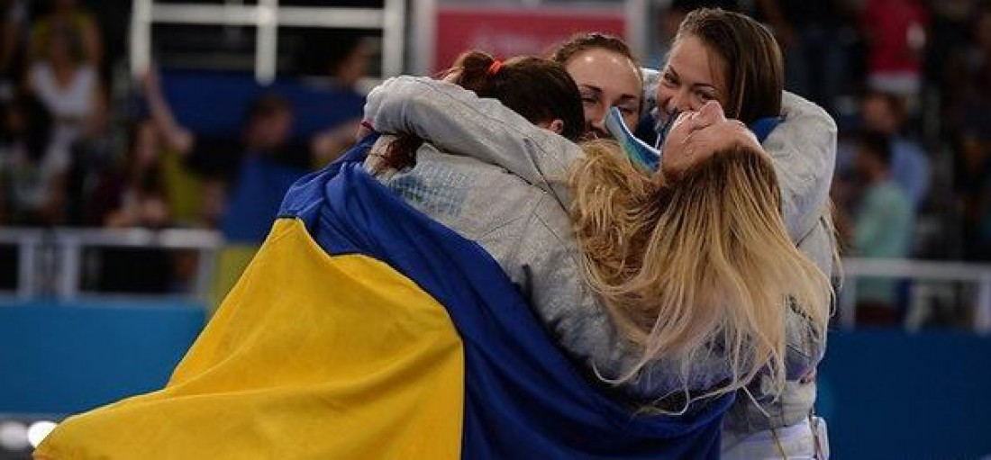 Украинские фехтовальщицы завоевали бронзу
