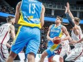 Украинские баскетболисты обыграли Латвию в отборе на чемпионат мира