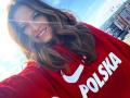 Девушка дня на ЧМ-2018: каратистка, которая родила Левандовски дочь