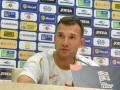 Шевченко: Перед командой стоит задача выиграть матч с Литвой