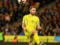 Во всех матчах сборной Украины сыграли только четыре игрока