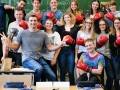 Владимир Кличко провел урок для немецких гимназистов