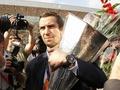 Фотогалерея: Шахтер привез Кубок УЕФА в Украину