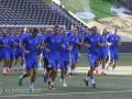 Игроки Динамо испытали искусственный газон стадиона в Берне